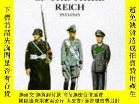 二手書博民逛書店German罕見Uniforms Of The Third Reich 1933-1945Y364682 Br