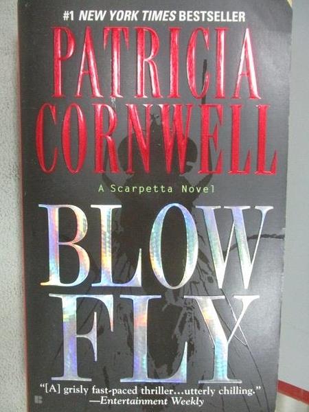 【書寶二手書T1/原文小說_MOP】Blow Fly_Patrcia Cornwell
