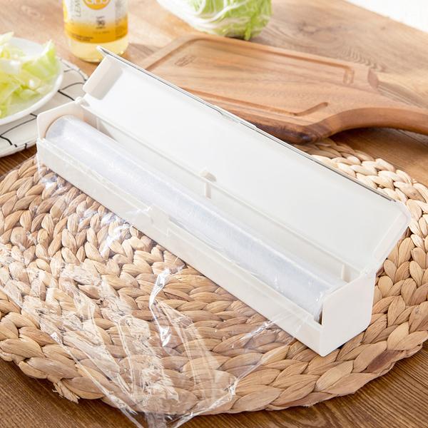 [超豐國際]保鮮膜切割器廚房用品小工具創意家居帶刀片保鮮紙切割盒子