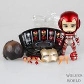 復仇者聯盟鋼鐵俠349Q版粘土 可換臉盒裝 港版