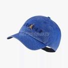 Nike 帽子 Jordan H86 Cap 男女款 老帽 復古 飛人 喬丹 Air 藍 【PUMP306】 AA1306-405