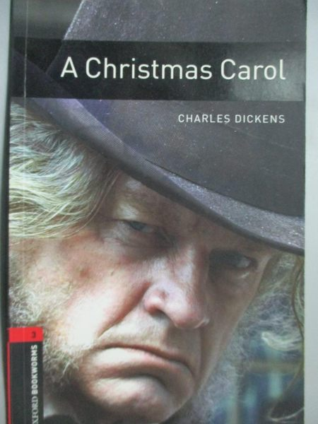 【書寶二手書T7/語言學習_JID】A Christmas Carol_Oxford Bookworms Library