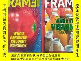 二手書博民逛書店FRAME罕見記錄時代的精神 外文原版雜誌2011年總78.81期兩本合售Y12880 FRAME frame