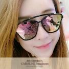 《Caroline》年度最新網紅款潮流百搭抗UV時尚太陽眼鏡 71944標檢局D74321