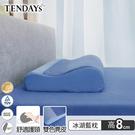 記憶枕_TENDAYs-DS柔眠枕(冰湖...
