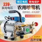 打藥機電機柱塞泵農藥機家用220V電動農...