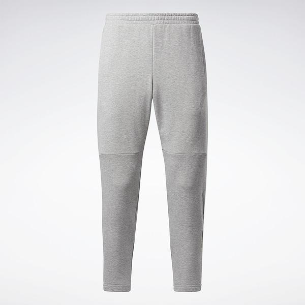 REEBOK Classics Knit Pants 男裝 長褲 休閒 鬆緊腰 側袋 針織 灰【運動世界】GP7156