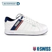 【超取】K-SWISS Lundahl WP防水時尚運動鞋-女-白/藍/紅
