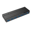 Plugable 7-Port 集線器 USB 3.0 Hub with 36W Power Adapter [2美國直購]