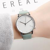 快速出貨 時尚潮流簡約小清新薄荷綠創意文藝森女繫防水男女中學生手錶