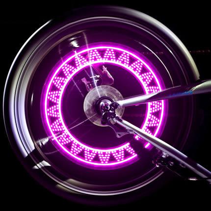 山地自行車氣門燈汽車摩托車電動車氣嘴燈單車風火輪燈裝備配件