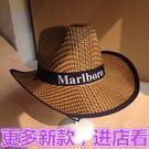 買一送一帽子夏季節爵士西部牛仔帽子男款防曬帽廠家草原騎士帽子
