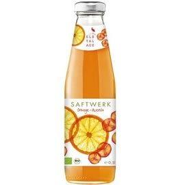 智慧有機體  德國有機櫻桃柳橙汁(500ml) 12罐 非濃縮還原