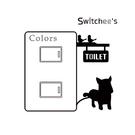 小型壁貼 插座貼 開關貼 獨家進口 【狗狗插座貼 SD-012】日本製 無痕 可水洗