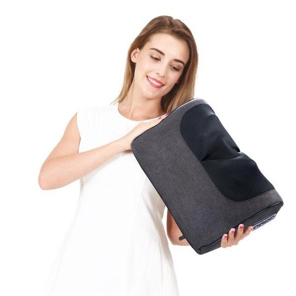 金凱瑞充電頸椎按摩器頸部腰部枕頭肩頸部電動家用全身多功能靠墊 igo