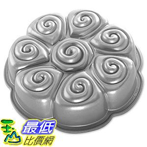 [美國直購] Nordicware 88137 肉桂捲 麵包盤 烤盤 Cinnamon Bun Pan, Silver