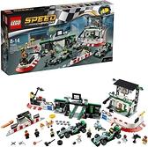 LEGO 樂高 Speed Champions 超級賽車系列 梅賽德斯AMG Petrous Formula One Team 75883
