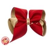 Monkey Bow--*熱賣* 大紅金 (大)