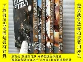 二手書博民逛書店ATTACK罕見on TITAN 9、10、11、12 共4本合售 英文原版 32開Y10893 看圖 看圖