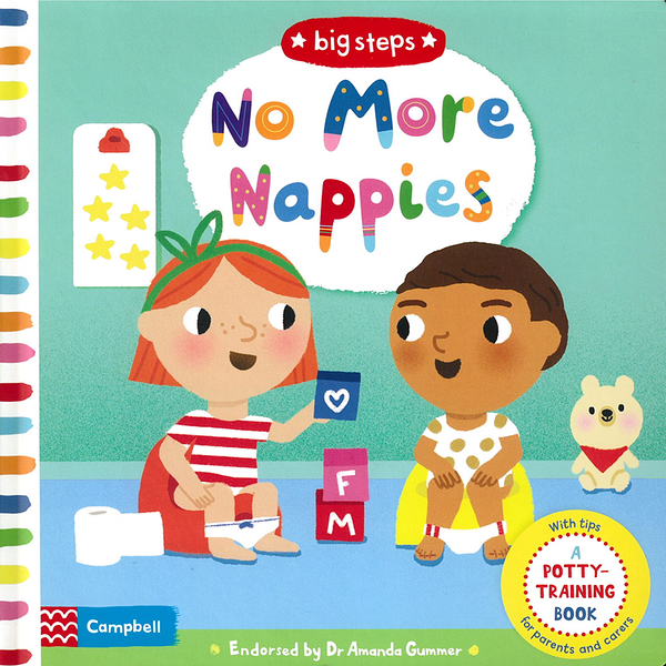 Big Steps:No More Nappies-A Potty Training Book 生活練習:不穿尿布 操作書