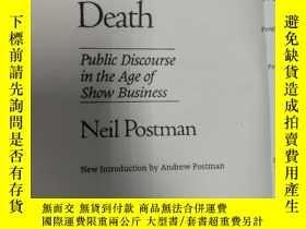 二手書博民逛書店Amusing罕見Ourselves to DeathY2687