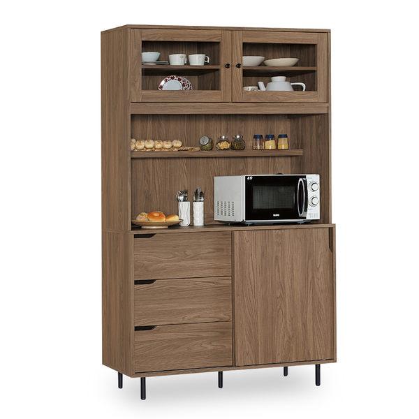 餐櫃【時尚屋】[NM7]凱登4尺餐櫃NM7-206-1免組裝/免運費/餐櫃