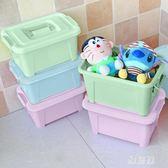 玩具收納箱 整理箱加厚收納箱塑料整理盒筐內衣小號置物儲物箱子zzy2319【雅居屋】TW