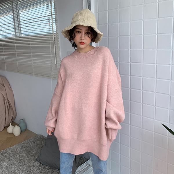 LULUS-Y自訂款-寬版縮口袖針織上衣- 3色  【01190766】