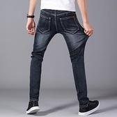 牛仔褲 牛仔褲 春季新款牛仔褲男士寬鬆直筒大碼彈力百搭青年休閒商務修身褲子男