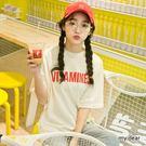 MD韓製-VITA字母短袖T恤-4色【01018112】