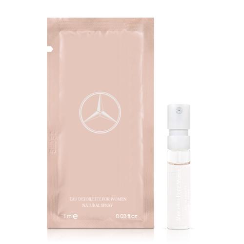 Mercedes Benz 賓士爵色佳人女性淡香水針管(1ml)【ZZshopping購物網】