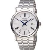 SEIKO 精工 Premier 超薄系列機械腕錶 4R35-01C0S SRPA17J1