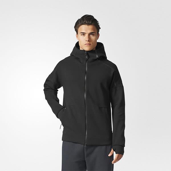 Adidas ZNE Pulse Hoodie 2.0 男裝 外套 彭于晏 休閒 保暖 黑 【運動世界】 BQ6925
