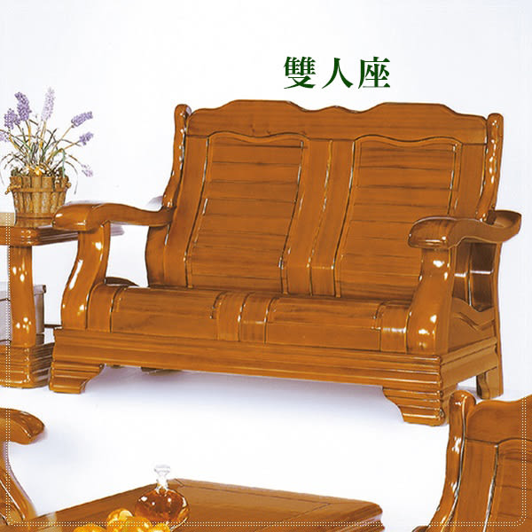 【水晶晶家具/傢俱首選】莫查洛306型全實木組椅1+2+3人+大小茶几五件式全組CX8428-1