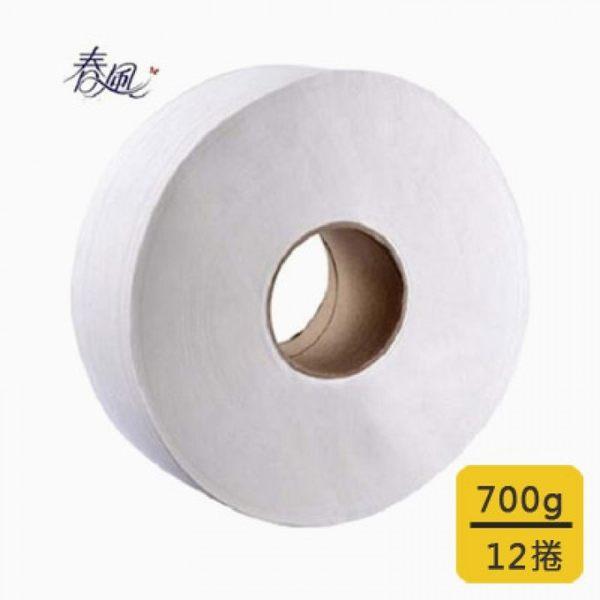【春風】大捲筒衛生紙(700gx12捲/箱)