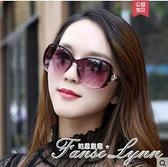 太陽鏡女士新款韓版潮防紫外線墨鏡眼睛時尚圓臉偏光護目眼鏡 范思蓮恩