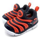 《7+1童鞋》小童 NIKE DYNAMO FREE (TD) 輕量毛毛蟲鞋 運動鞋 學步鞋 F829 橘色