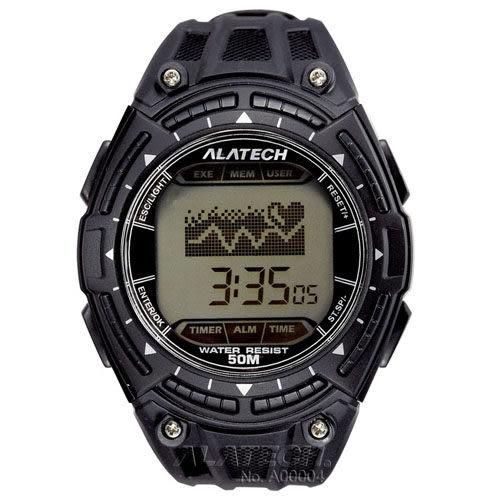 大毛生活館●ALATECH FB003B 專業健身 心率錶 – 黑色