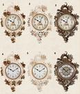 歐式靜音掛鐘現代客廳臥室藝術時鐘石英鐘創意大號鐘錶裝飾