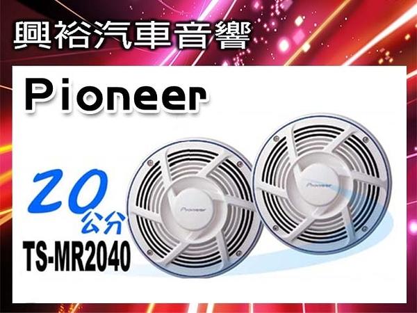 【Pioneer】8吋船用防水抗鹽蝕2音路揚聲器TS-MR2040*先鋒200W