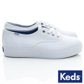 Keds TRIPLE 經典厚底帆布鞋 NO.KB5591