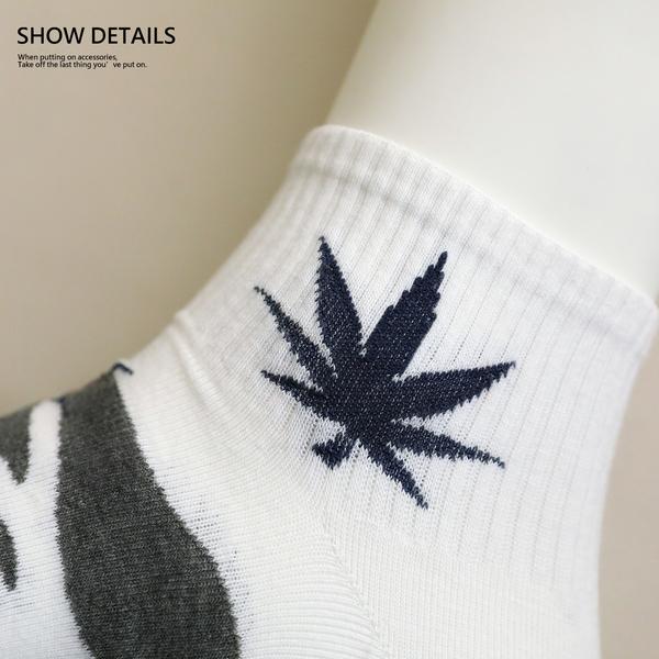 【正韓直送】韓國襪子 迷彩大麻葉加大男性中筒襪 男襪 長襪 禮物 型男必備 哈囉喬伊 M2