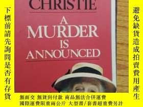 二手書博民逛書店A罕見Murder is AnnouncedY289621 Ag