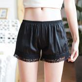 安全褲防走光女夏季薄款蕾絲可外穿內搭寬鬆短褲大碼打底褲保險褲 森活雜貨
