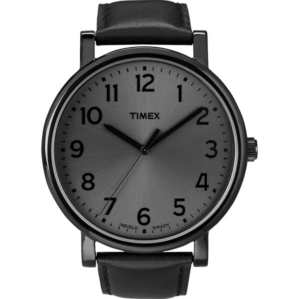 【TIMEX】天美時 復刻系列經典工藝時尚腕錶(黑 TXT2N346)