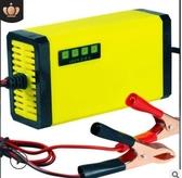 12V20AH摩托車電瓶反接短路保護電量顯示充電器蓄電池 布衣潮人