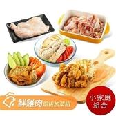 【南紡購物中心】【 山海珍饈】國產鮮雞肉銅版加菜組-小家庭組合