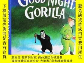 二手書博民逛書店英文原版繪本罕見晚安大猩猩 Good Night Gorilla