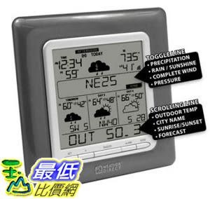 [美國代購代轉帳服務]  La Crosse Technology WD-3307U 4 Day Internet Powered  Weather Station $2163