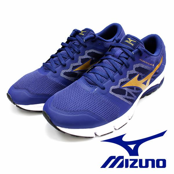 【MIZUNO促銷6折】MIZUNO  SYNCHRO MX 二代 藍 路跑 運動鞋 男 J1GE171850